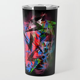 Abstract Electrics Travel Mug