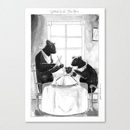 Goldilocks and the Three Bears Canvas Print