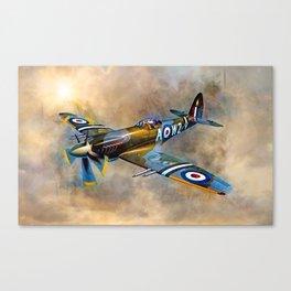 Spitfire Dawn Flight Canvas Print