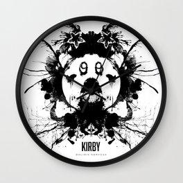 Kirby Ink Blot Geek Psychological Disorders Wall Clock