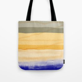Brush Strokes Art, Watercolor, Color Theory Home Accessories Tote Bag