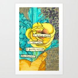 oh flowers Art Print