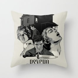 P. Throw Pillow