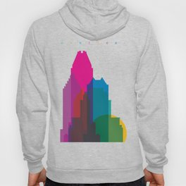 Shapes of Montreal. Accurate to scale. Hoody
