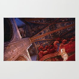 Looking Up - Albi Cathedral Rug