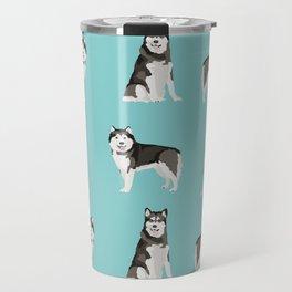 Alaskan malamute  dog breed pet lover malamute gifts Travel Mug