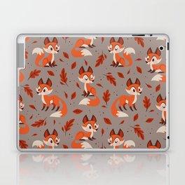 Cute Foxes Laptop & iPad Skin