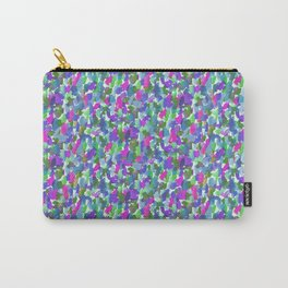 Loose Watercolor Cool Carry-All Pouch