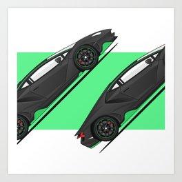 Car-2 Art Print