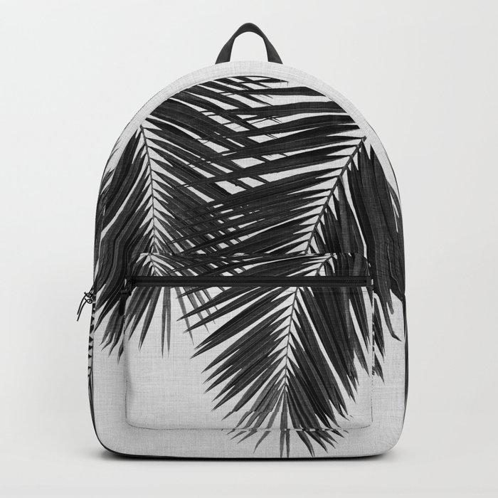 Palm Leaf Black & White II Backpack