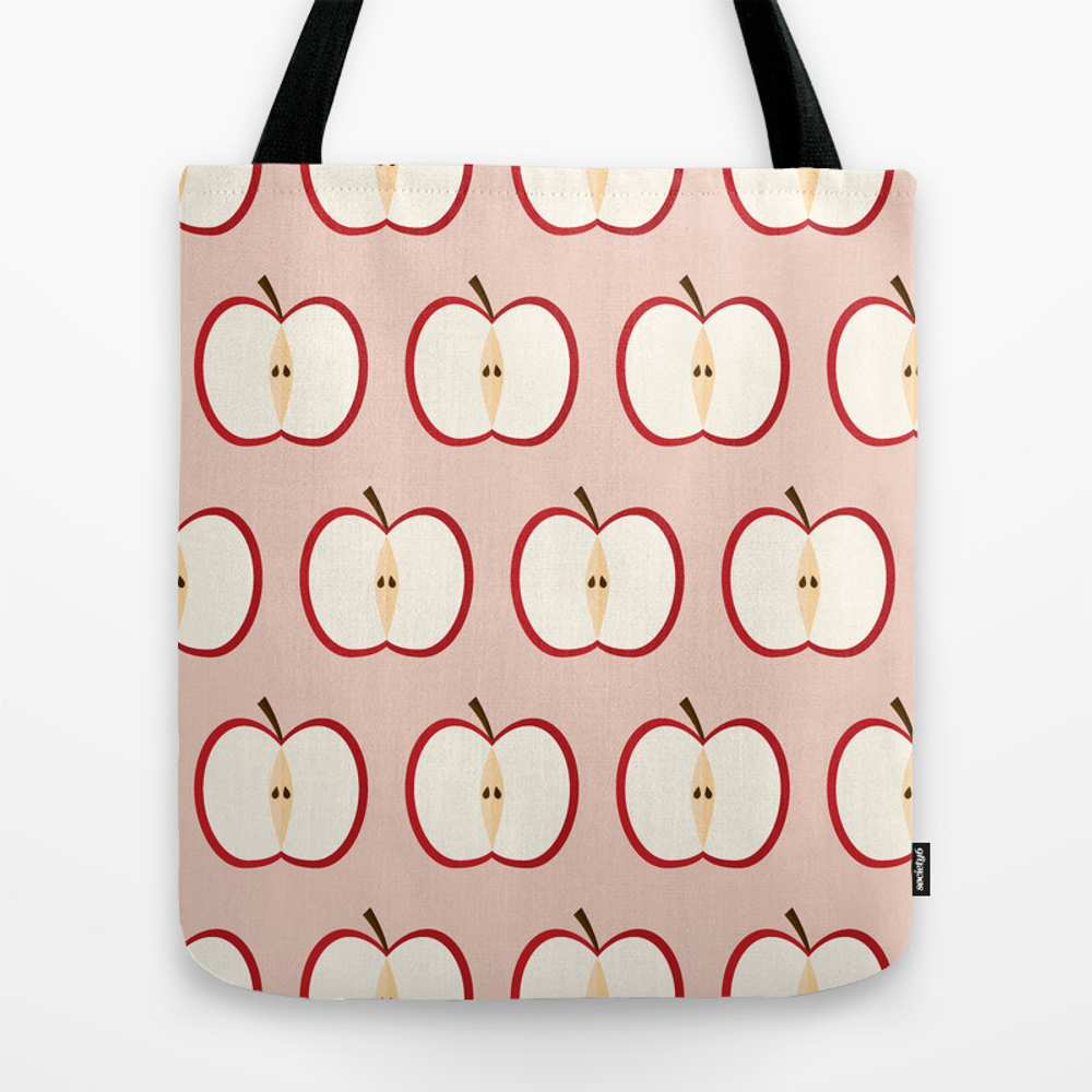 Apple Party Tote Bag by Reneesillustrations TBG8744840