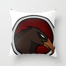 The Maltese Lounge Throw Pillow