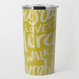 Act Love Walk x Mustard Travel Mug