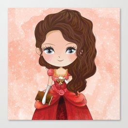 Tessa Gray Canvas Print