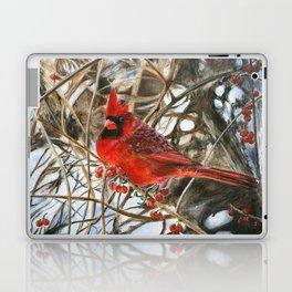 Winter Cardinal by Teresa Thompson Laptop & iPad Skin