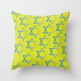 Jewish Stars Throw Pillow