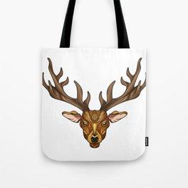 Deer Park- MI_Brown Tote Bag