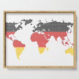 Germany flag Serving Tray
