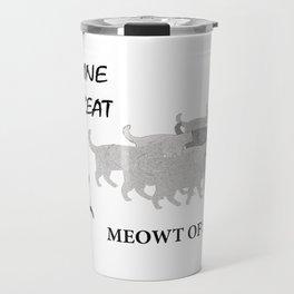 Meowt of Step Travel Mug