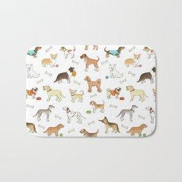 Breeds of Dog Bath Mat