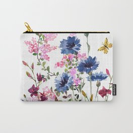 Wildflowers IV Carry-All Pouch
