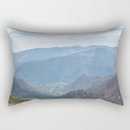 French mountain view Rectangular Pillow