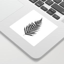 Fern silhouette Sticker