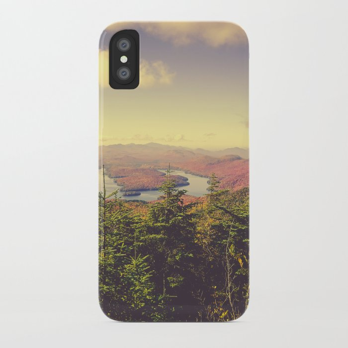 Endless Mountains Forever Wild iPhone Case