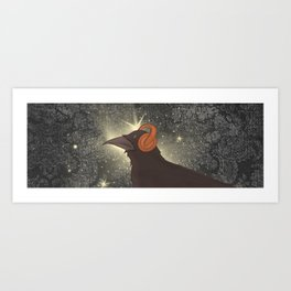 Rad Crow Art Print