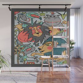 animals are cool Wall Mural
