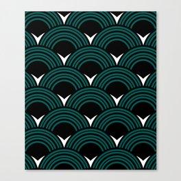 Art Deco Shell Print Canvas Print