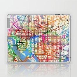 Washington DC Street Map Laptop & iPad Skin