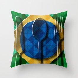 Copa & Cucina I Throw Pillow