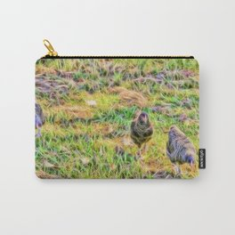 Hens on the farm Carry-All Pouch
