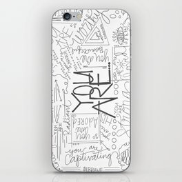 You Are iPhone Skin