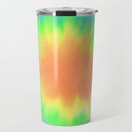 Bright Tie Dye  Travel Mug