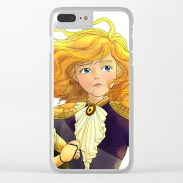 Tammy Wurtherington: Freedom Fighter Clear iPhone Case