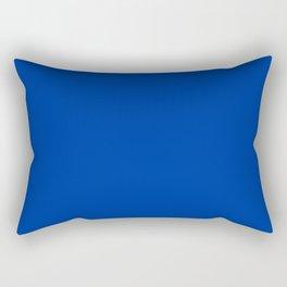 Dark Princess Blue Fashion Color Trends Spring Summer 2019 Rectangular Pillow