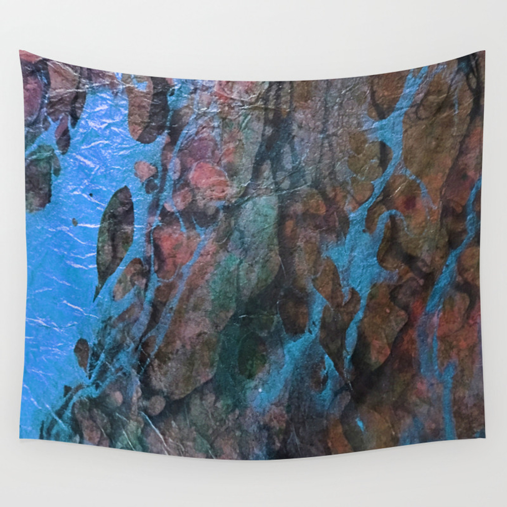 The Painter's Brush - Corrupted Ocean 02 Wall Tapestry by Castrophanytextures TPS8315982