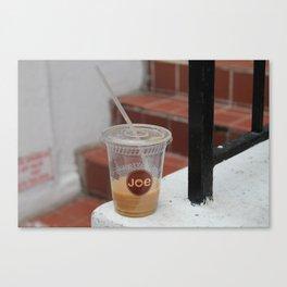 Cuppa Joe Canvas Print