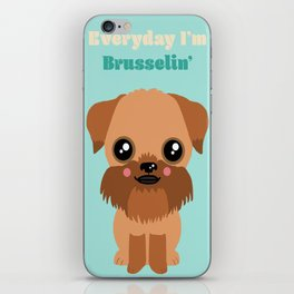 Brussels Griffon iPhone Skin
