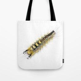 Rusty Tussock Moth Caterpillar Tote Bag