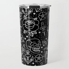 Black flash Travel Mug