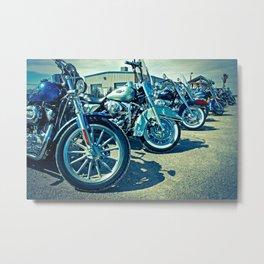 Biker's Meeting, El Paso - EPBM04 Metal Print