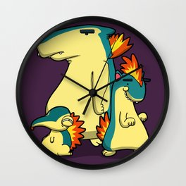 Pokémon - Number 155, 156 & 157 Wall Clock