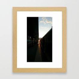 dawned upon Framed Art Print