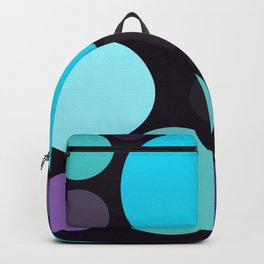 Blue and Purple Dots Backpack
