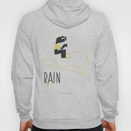 Rain is Bad for a Book Hoody