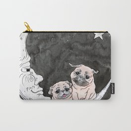 Paper Moon Pug Carry-All Pouch