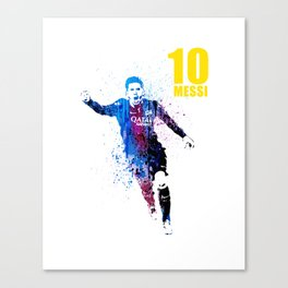 Messi forever Canvas Print